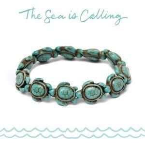 Sea Turtle Stretch Bracelet